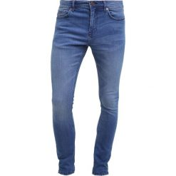 Only & Sons ONSEXTREME CAMP Jeans Skinny Fit light blue denim. Brązowe jeansy męskie marki Only & Sons, l, z poliesteru. Za 169,00 zł.