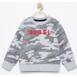 Bluza moro Rebel - Jasny szar. Szare bluzy niemowlęce marki Reserved, moro. W wyprzedaży za 24,99 zł.
