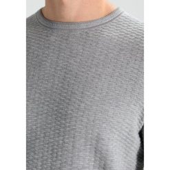 Kardigany męskie: BOSS ATHLEISURE RATER Sweter grey melange