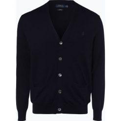 Polo Ralph Lauren - Kardigan męski, niebieski. Niebieskie swetry rozpinane męskie Polo Ralph Lauren, l, z bawełny, polo. Za 759,95 zł.