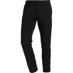 Chinosy męskie: Burton Menswear London Spodnie materiałowe schwarz