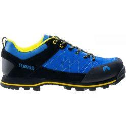 Buty trekkingowe męskie: ELBRUS Buty męskie HILDUR lake blue/black/yellow roz. 45