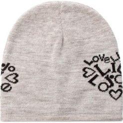 Czapka LIU JO - Cuffia Love A67238 M0300  30002 Marmo. Niebieskie czapki zimowe damskie marki WED'ZE, z materiału. W wyprzedaży za 159,00 zł.