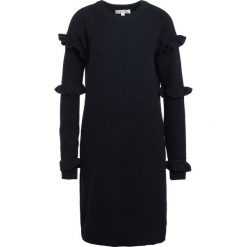 MICHAEL Michael Kors Sukienka dzianinowa black. Czarne sukienki dzianinowe MICHAEL Michael Kors, m. W wyprzedaży za 637,45 zł.