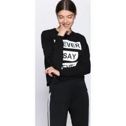 Czarna Bluza Five Minutes More. Czarne bluzy rozpinane damskie Born2be, l. Za 69,99 zł.