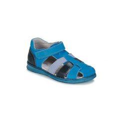 Sandały Dziecko  Citrouille et Compagnie  FRINOUI. Niebieskie sandały chłopięce Citrouille et Compagnie. Za 199,00 zł.