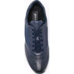 Gino Rossi - Buty. Szare buty sportowe męskie Gino Rossi, z materiału, na sznurówki. W wyprzedaży za 299,90 zł.