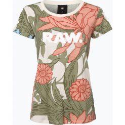 G-Star - T-shirt damski – Lindelly, biały. Szare t-shirty damskie marki G-Star. Za 159,95 zł.