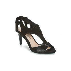 Sandały Betty London  INILAVE. Czarne sandały damskie marki Betty London. Za 230,30 zł.
