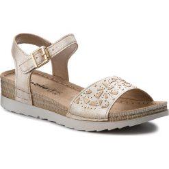 Rzymianki damskie: Sandały INBLU – OF163B75  Beżowy
