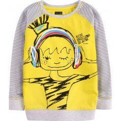 Bluzy dziewczęce: Bluza dresowa przez głowę dla dziewczynki 9-13 lat