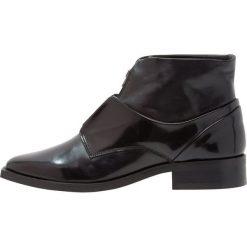 Botki damskie lity: Royal RepubliQ PRIME SQUARE ZIP MIDCUT Ankle boot black