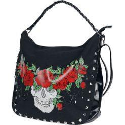 Torebki klasyczne damskie: Jawbreaker Skull Crown Torebka – Handbag czarny