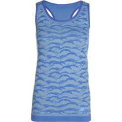 Adidas Performance ULTRA  Top hirblue/ashgrey. Niebieskie topy damskie adidas Performance, xl, z elastanu. Za 279,00 zł.