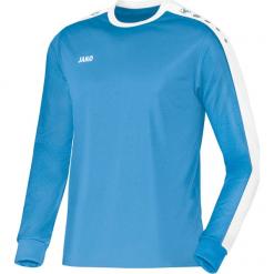 Koszulki sportowe męskie: Jako Striker Koszulka z długim rękawem – mężczyźni – skyblue / biały _ s