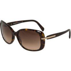Prada Okulary przeciwsłoneczne braun. Brązowe okulary przeciwsłoneczne damskie lenonki marki Prada. Za 959,00 zł.