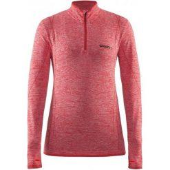 Bluzki sportowe damskie: Craft Koszulka Termoaktywna Z Długim Rękawem Active Comfort Zip Ls Pink L