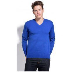 William De Faye Sweter Męski Xxl Niebieski. Czarne swetry klasyczne męskie marki Polo Club C.H..A, m, dekolt w kształcie v. Za 259,00 zł.