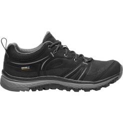 Buty trekkingowe damskie: Keen Buty damskie Terradora Leather WP Black/Steel Grey r. 39.5  (1018017)