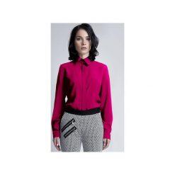 ELEGANCKA KOSZULA, K101. Czerwone koszule wiązane damskie Lanti, s, w kwiaty, eleganckie. Za 119,00 zł.