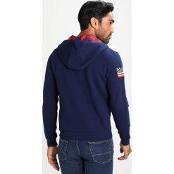 Bejsbolówki męskie: U.S. Polo Assn. Bluza rozpinana blue