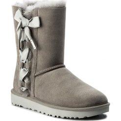 Buty UGG - W Pala 1017531 W/Sel. Szare buty zimowe damskie marki Ugg, z materiału, z okrągłym noskiem. Za 1069,00 zł.