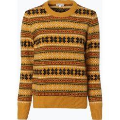 Marie Lund - Sweter damski, żółty. Żółte swetry klasyczne damskie Marie Lund, s, z dzianiny. Za 249,95 zł.
