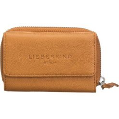 """Portfele damskie: Skórzany portfel """"Vera 08"""" w kolorze jasnobrązowym - 12 x 8 x 3 cm"""
