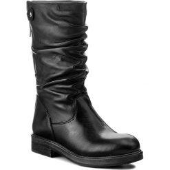 Kozaki TAMARIS - 1-25975-39 Black 001. Szare buty zimowe damskie marki Tamaris, z materiału, na sznurówki. W wyprzedaży za 309,00 zł.