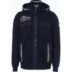 Camp David - Kardigan męski, niebieski. Czarne swetry rozpinane męskie marki Reserved, m, z kapturem. Za 589,95 zł.
