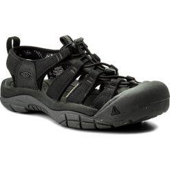 Sandały KEEN - Newport Eco 1018803  Black/Magnet. Czarne sandały męskie skórzane Keen. W wyprzedaży za 299,00 zł.