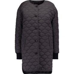 Płaszcze damskie pastelowe: Soaked in Luxury EDINBURG  Krótki płaszcz dark grey melange