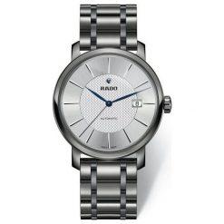 PROMOCJA ZEGAREK RADO DIAMASTER R14 074 13 2. Szare zegarki męskie RADO, ceramiczne. W wyprzedaży za 8100,00 zł.