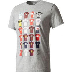 Adidas Koszulka CL History szara r. M (BP7277). Szare t-shirty męskie Adidas, m. Za 87,38 zł.
