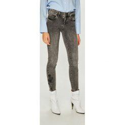 Liu Jo - Jeansy Divine. Szare jeansy damskie Liu Jo, z haftami, z bawełny. Za 749,90 zł.