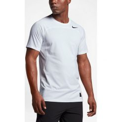 Nike Koszulka męska Men's Pro Hypercool Top biała r. XL (828178 100). Białe koszulki sportowe męskie marki Nike, m. Za 109,00 zł.