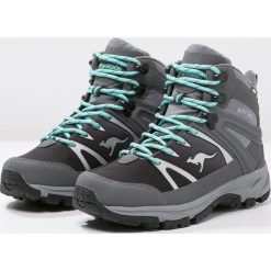 Buty zimowe damskie: KangaROOS NANGAT Buty trekkingowe dark grey/smaragd