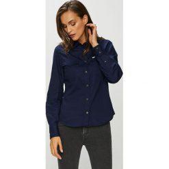 Lee - Koszula. Czarne koszule damskie Lee, l, z bawełny, casualowe, z klasycznym kołnierzykiem, z długim rękawem. Za 259,90 zł.