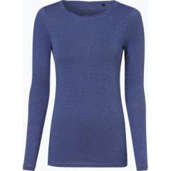Marc O'Polo - Damska koszulka z długim rękawem, niebieski. Niebieskie t-shirty damskie Marc O'Polo, m, z dżerseju, polo. Za 179,95 zł.