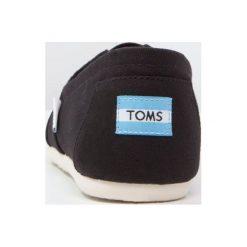 Creepersy damskie: TOMS CLASSIC Półbuty wsuwane black
