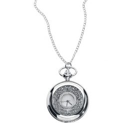 Naszyjniki damskie: Vintage Zegarek – Naszyjnik srebrny