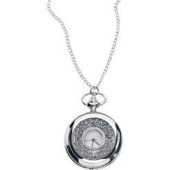 Zegarki damskie: Vintage Zegarek - Naszyjnik srebrny