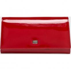 Nobo - Portfel. Czerwone portfele damskie Nobo, z materiału. W wyprzedaży za 189,90 zł.