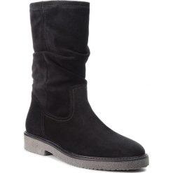 Kozaki GABOR - 71.657.17 Schwarz. Czarne buty zimowe damskie Gabor, z materiału. Za 519,00 zł.