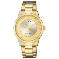 Zegarek Q&Q Męski Klasyczny QA44-010 złoty. Żółte zegarki męskie Q&Q, złote. Za 116,00 zł.