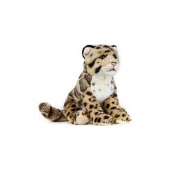 Maskotka DANTE National Geographic Pantera mglista dziecko. Szare przytulanki i maskotki marki DANTE, z materiału. Za 79,90 zł.