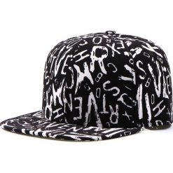 Czapka męska snapback czarna (hx0219). Czarne czapki z daszkiem męskie marki Dstreet, z nadrukiem, eleganckie. Za 69,99 zł.