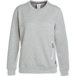 Super.natural VACATION KNIT CREW Bluza grey melange. Szare bluzy damskie super.natural, m, z bawełny. W wyprzedaży za 377,40 zł.