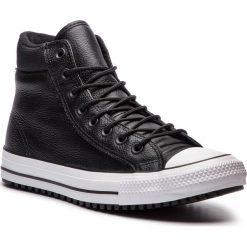 Trampki CONVERSE - Ctas Pc Boot Hi 162415C Black/Black/White. Czarne tenisówki męskie Converse, z gumy. Za 429,00 zł.