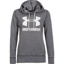 Bluzy sportowe damskie: Under Armour Bluza damska Favorite Fleece PO szara r.L (1302360-090)